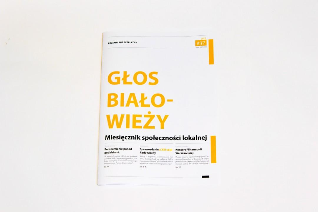 Local magazine design