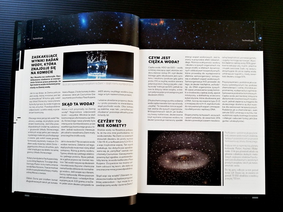 NiFe magazine layout design
